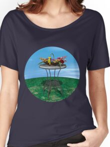 Basket of Flowers Women's Relaxed Fit T-Shirt