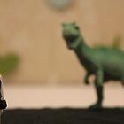 Stormtrooper VS. Dinosaur  by Samantha Mercado