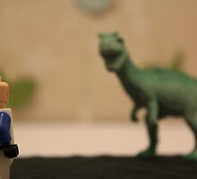 Stormtrooper VS. Dinosaur  by SamWhere