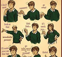 Popular Italian Gestures brought to you by Italia Romano by zieberich