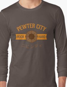 Pewter City Gym Long Sleeve T-Shirt