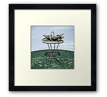 Basket of Flowers Framed Print