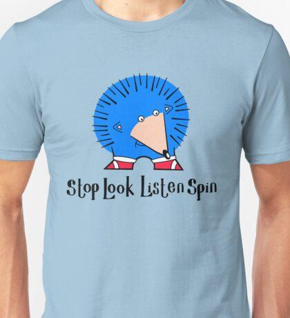 Stop Look Listen Spin T-Shirt