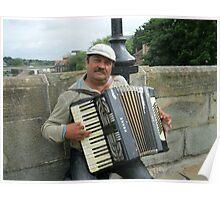 Street Musician Poster