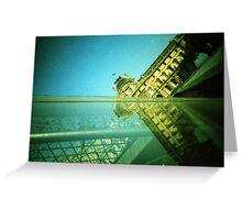 Palace and Pyramid - Lomo Greeting Card