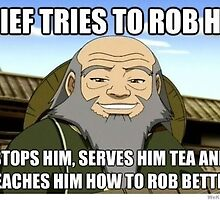 Uncle Iroh Robbed - Avatar by Real-Entity