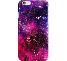 Ink painted universe. iPhone Case/Skin