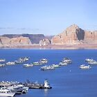 Harbour at Lake Powell by Allison Waibel
