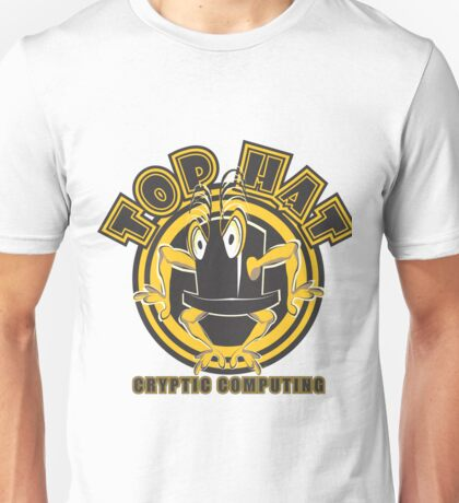 TOP HAT  Cryptic Computing Unisex T-Shirt
