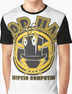 TOP HAT  Cryptic Computing Graphic T-Shirt