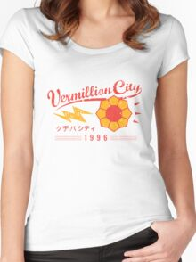 Vermillion City Gym Women's Fitted Scoop T-Shirt