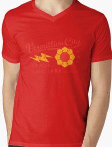 Vermillion City Gym Mens V-Neck T-Shirt
