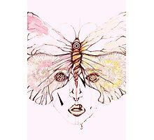 Pink Vision Photographic Print