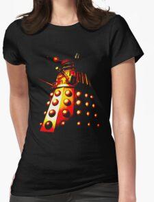 Dalek Gamma – Fire Womens Fitted T-Shirt
