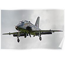 BAE Systems Hawk Final Approach Poster