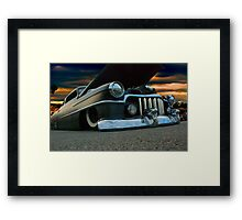 Dark And Low Framed Print