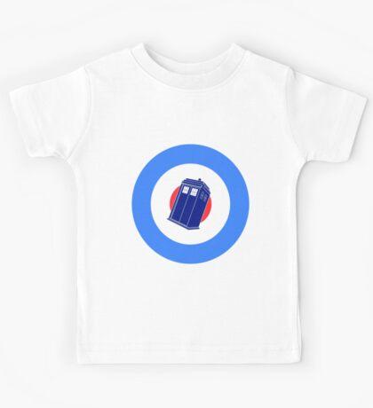 TARDIS Mod Target Kids Tee