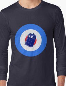 TARDIS Mod Target Long Sleeve T-Shirt