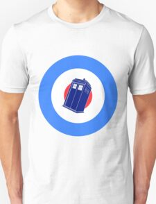 TARDIS Mod Target Unisex T-Shirt