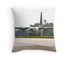 Hercules Taxi Throw Pillow