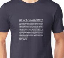 Johann Unisex T-Shirt