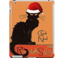 Le Chat Noel iPad Case/Skin