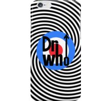 Dr Who Target (with arrow) iPhone Case/Skin