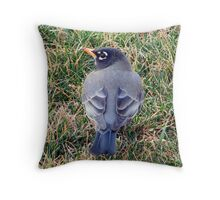 Is My Slip Straight? Throw Pillow