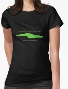 Delta Trail alternate Womens Fitted T-Shirt
