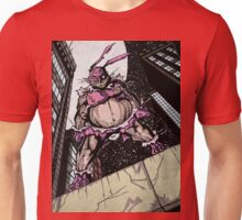 The Pink Bunny Saves Unisex T-Shirt
