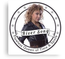 River Song logo Canvas Print