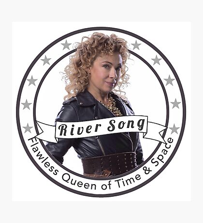 River Song logo Photographic Print
