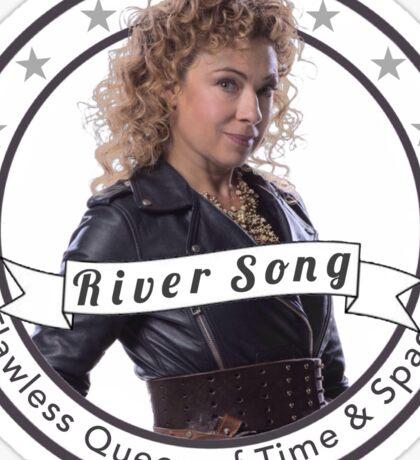 River Song logo Sticker