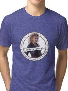 River Song logo Tri-blend T-Shirt