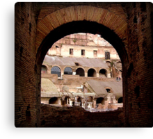 The Beautiful Arches of Italy Canvas Print