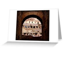 The Beautiful Arches of Italy Greeting Card