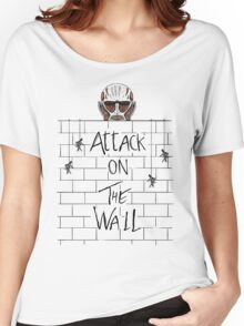 Attack on the Wall Women's Relaxed Fit T-Shirt