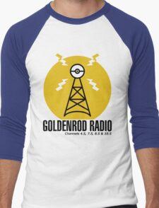 Goldenrod Radio Men's Baseball ¾ T-Shirt