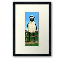 Sheep Poster - Huge Resolution Image Framed Print