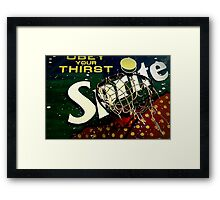 Shootin' Hoops With Bubbles: Sprite Framed Print