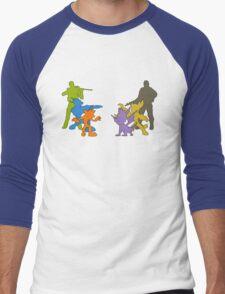 Clash of Heroes Men's Baseball ¾ T-Shirt