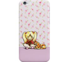 Cocker Spaniel Comforter iPhone Case/Skin