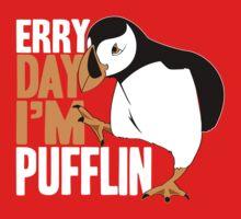 Erry Day I'm Pufflin One Piece - Long Sleeve