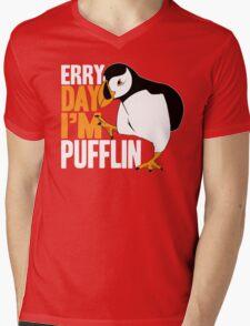 Erry Day I'm Pufflin Mens V-Neck T-Shirt