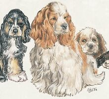American Cocker Spaniel Puppies by BarbBarcikKeith