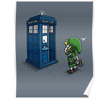 Time Travel Ocarina Poster