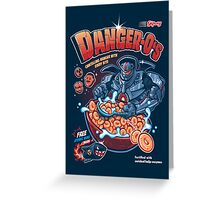 Danger-O's Greeting Card
