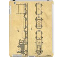 Toy Train Patent iPad Case/Skin