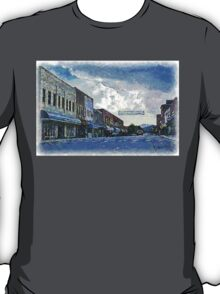 Street Banner in Historic Downtown Franklin, NC T-Shirt