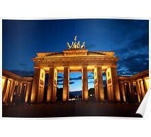 Berlin, Brandenburger Tor Poster
